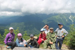 выше гор, только туристы гимназии 6